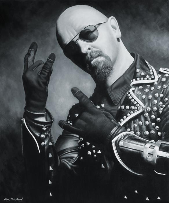 Rob Halford by chaosart